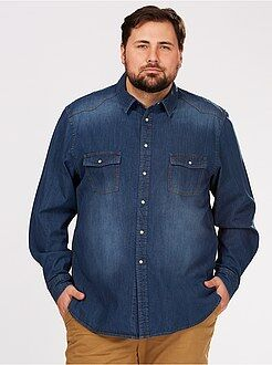 Camisa denim confort