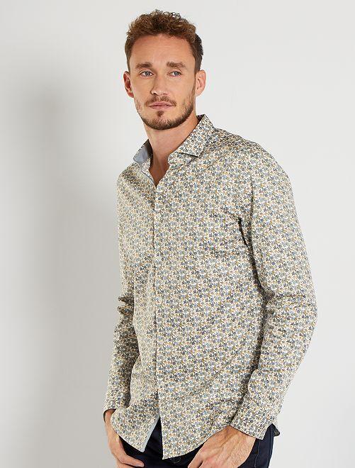 Camisa eco-concepción +1,90 m                                         BLANCO