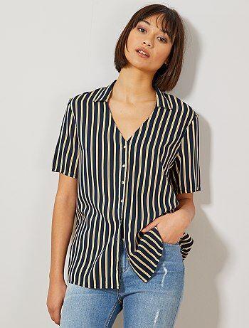 1b901690a Nueva colección verano 2019 | Camisas Mujer | Kiabi