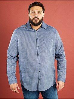Camisa estampada de algodón puro