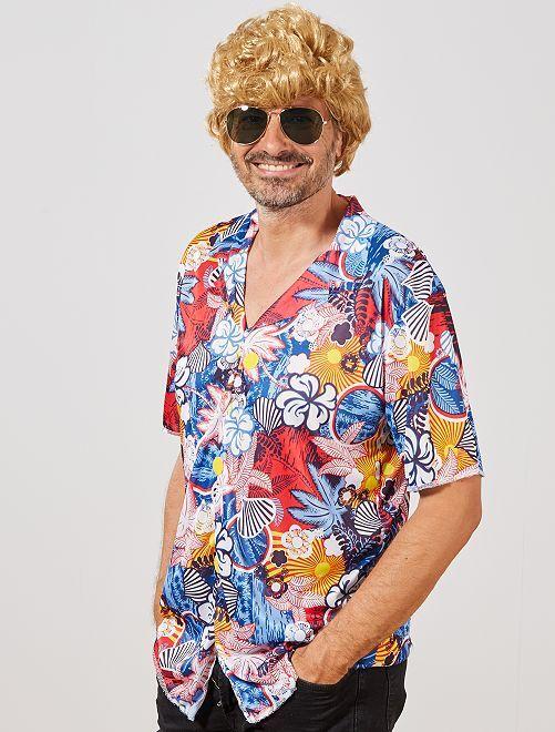 Camisa 'Hawaiana'                             multicolor