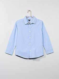 Niño 4-12 años Camisa Oxford