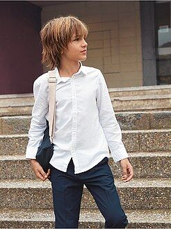 Camisas - Camisa Oxford - Kiabi