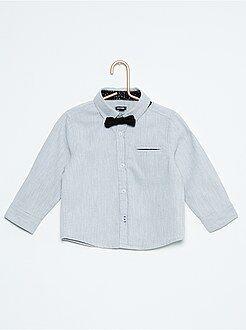 Camisa + pajarita