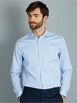 Hombre - Camisa regular de algodón oxford - Kiabi