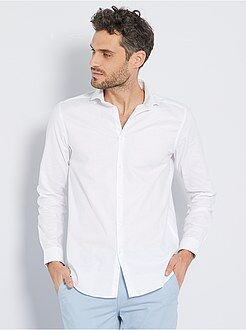 Camisas corte recto talla xl - Camisa regular de algodón oxford - Kiabi