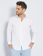 Camisa regular de algodón oxford