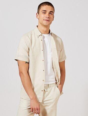 8426119f6 Camisa de manga corta hombre - moda online Hombre