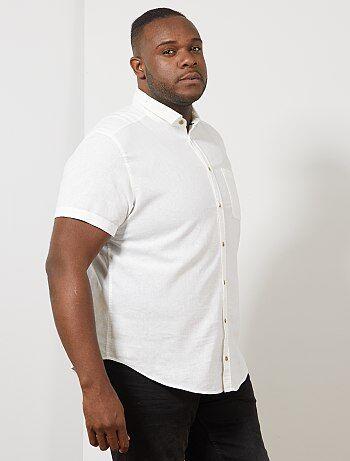 89fd79b5f69 Rebajas camisas de tallas grandes para Tallas grandes hombre   Kiabi