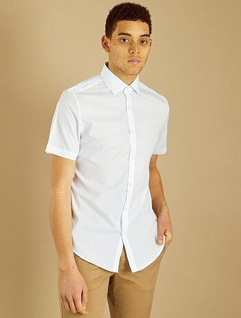 35be81aaf Camisas blancas hombre   camisa de algodon a pequenos precios Hombre ...