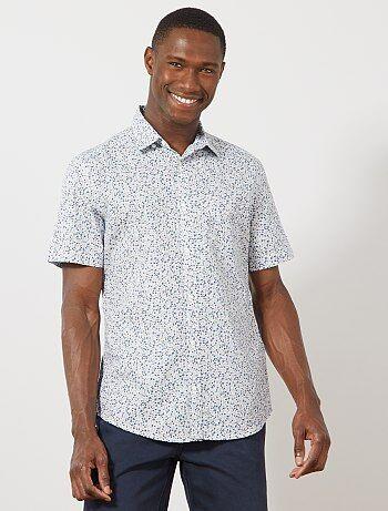 52c40c89f4 Rebajas camisas de Hombre   Kiabi