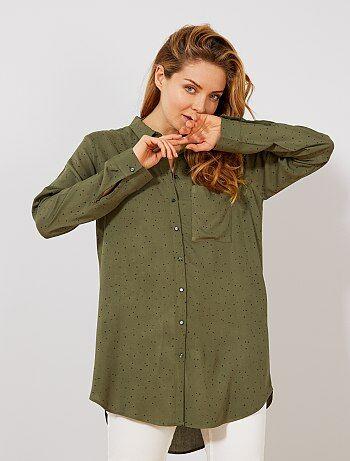 Camisa vaporosa estampada - Kiabi