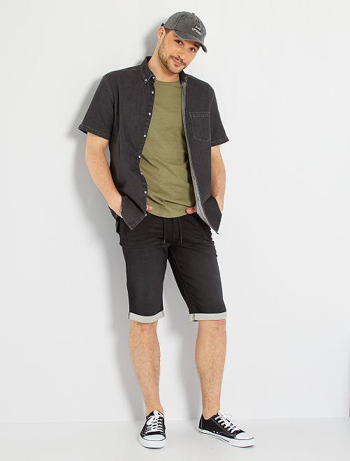 Camisa vaquera +1,90 m                             GRIS