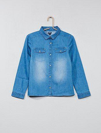 Camisa vaquera - Kiabi