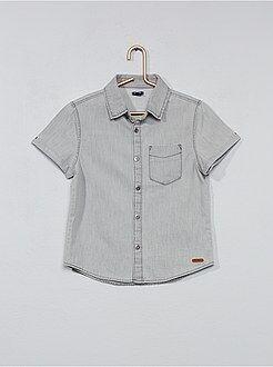 Camisas - Camisa vaquera - Kiabi