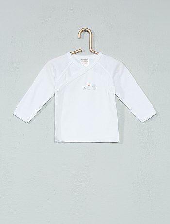 Camiseta 'Absorba' de algodón orgánico - Kiabi