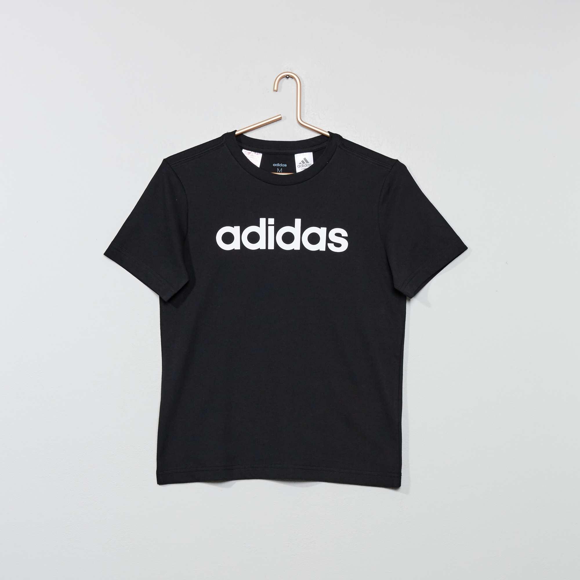 46a28594266 Camiseta 'Adidas' Joven niño - NEGRO - Kiabi - 15,00€