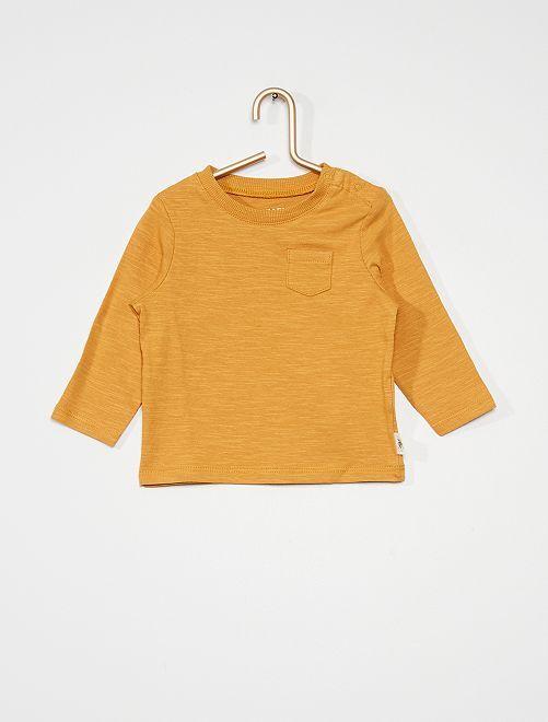 Camiseta                                                     amarillo ocre