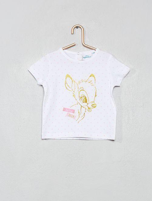Camiseta 'Bambi'                             blanco