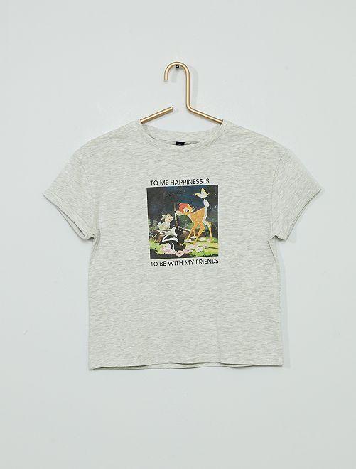 Camiseta 'Bambi' 'eco-concepción'                             GRIS