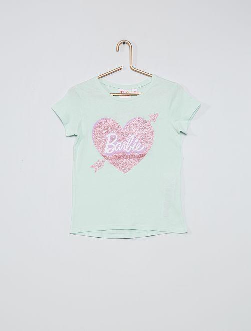 Camiseta 'Barbie' brillante                                         VERDE