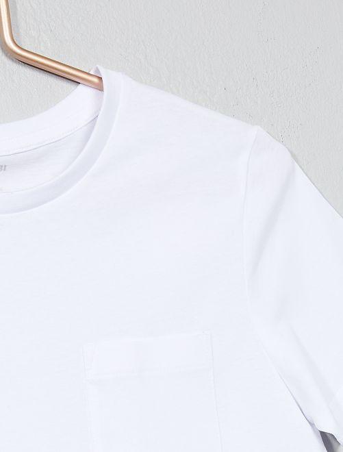 a34d9f56e Camiseta básica Joven niño - blanco - Kiabi - 3
