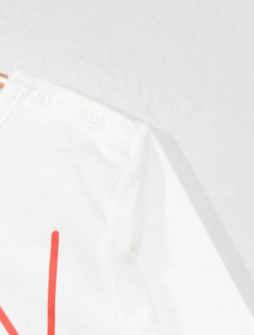 12f043f92 ... Camiseta básica con estampado vista 2 · Camiseta básica con estampado  vista 3. Camiseta básica con estampado BLANCO Bebé niño. Loading zoom