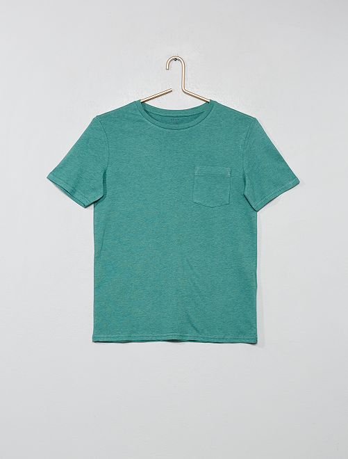Camiseta básica                                                                             KAKI Joven niño