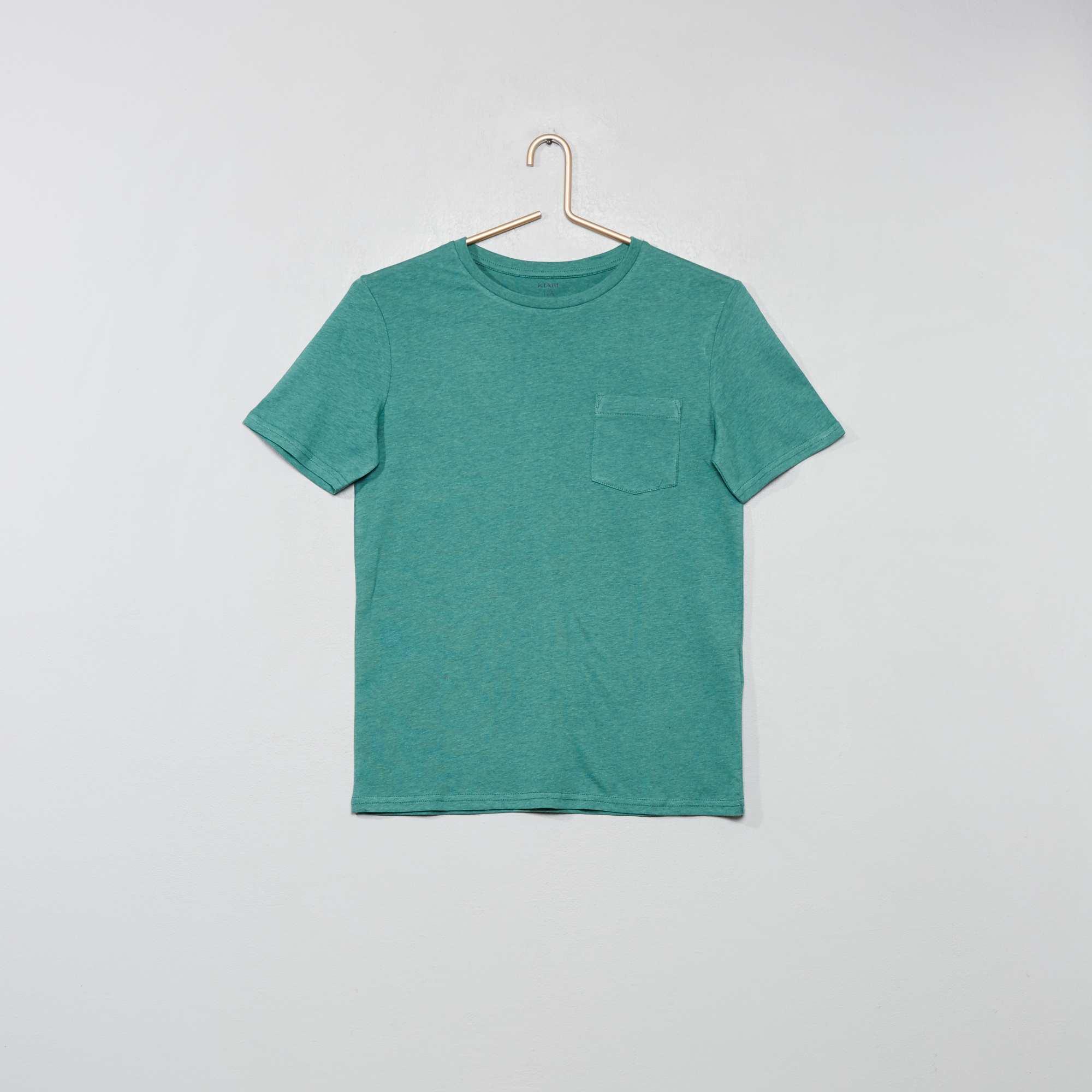 4139cbe53 Camiseta básica Joven niño - KAKI - Kiabi - 3
