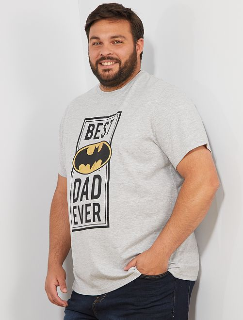 Camiseta 'Batman'                             gris