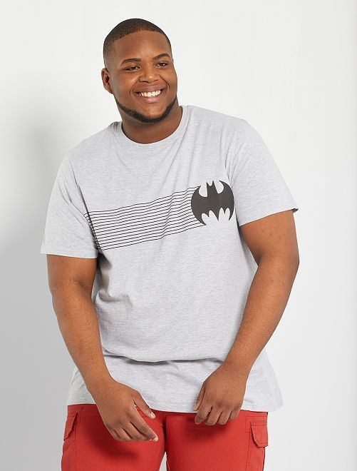 Camiseta 'Batman'                             gris