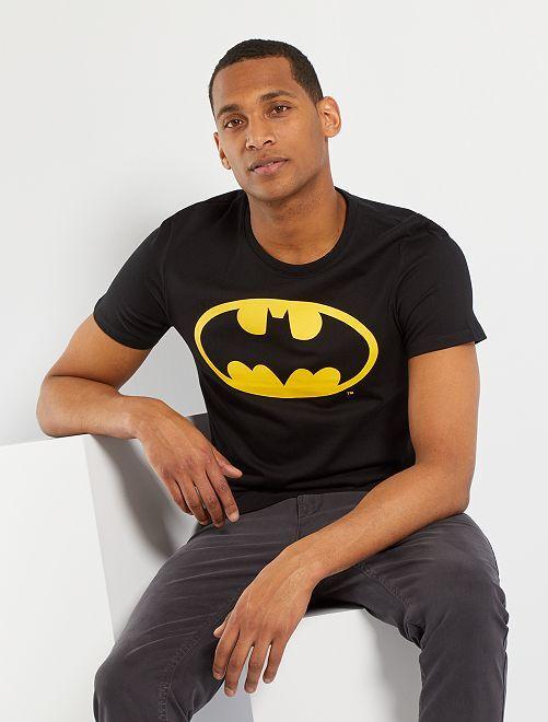 Camiseta 'Batman'                             negro