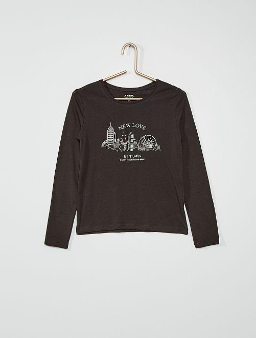 Camiseta 'ciudad'                                                                                                                                         GRIS