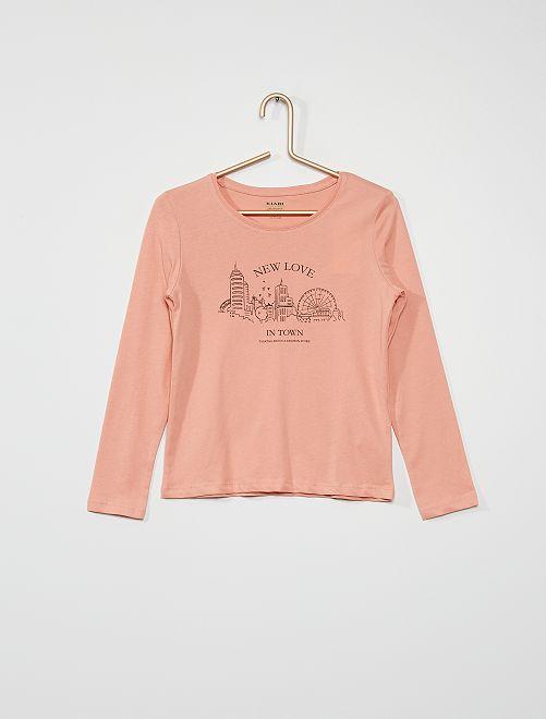 Camiseta 'ciudad'                                                                                                                                         ROSA
