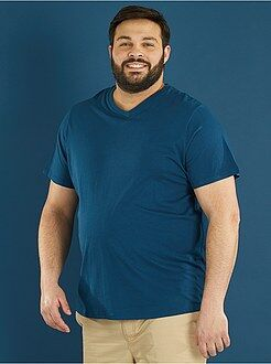 Camisetas básicas - Camiseta cómoda de punto lisa - Kiabi