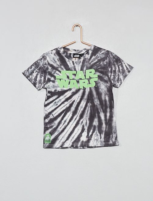 Camiseta con adornos de 'Star Wars'                                         BLANCO Chico