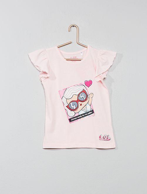Camiseta con adornos 'LOL Surprise'                             rosa Chica