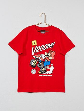 cd19312cd Camiseta con adornos  Super Mario  - Kiabi