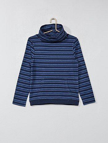 Camiseta con cuello chimenea - Kiabi