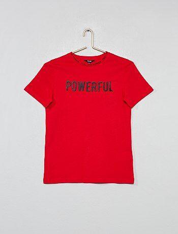 Colección de camisetas de manga corta para Niño  4528b4a42f5e3