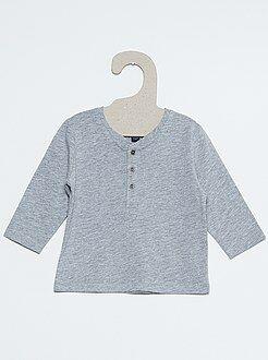 Niño 0-24 meses Camiseta con cuello panadero