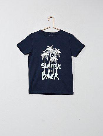 0ebeb6610 Camiseta con estampado - Kiabi