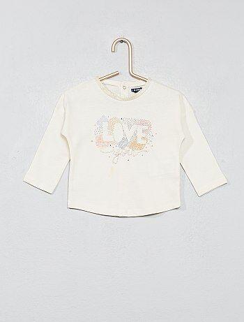 Camiseta con estampado - Kiabi