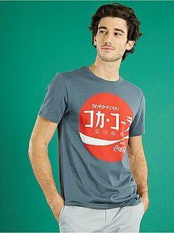 Hombre Camiseta con estampado 'Coca-Cola' Japón
