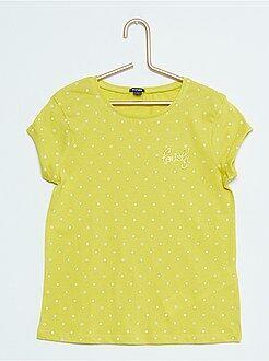 Camiseta con estampado de fantasía