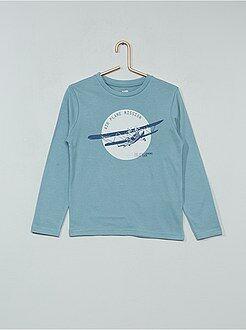 Camiseta con estampado de fantasía - Kiabi