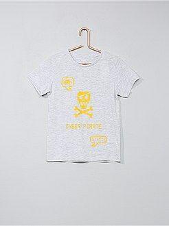 Camisetas manga corta - Camiseta con estampado de fantasía - Kiabi