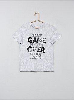 Niño 3-12 años - Camiseta con estampado de fantasía - Kiabi