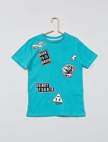 2e6007862e Camiseta con estampado fantasía - Kiabi