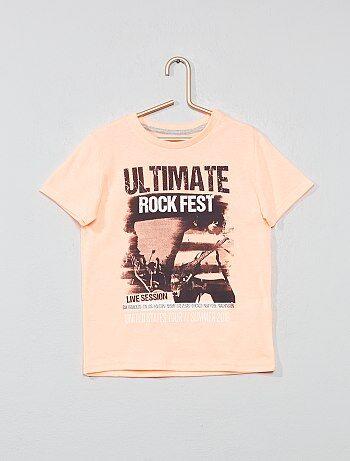 e9a462ba78af7 Camiseta con estampado fantasía - Kiabi